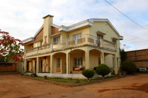The missionary's house where I am staying.